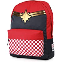 Vans Captain Marvel Realm Backpack Racing Red