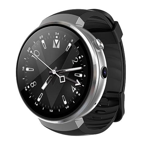AZWE Smart Watch 4G Let Android 7.1 Smartwatch con cámara de ...