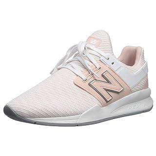 New Balance Women's 247v2 Sneaker, Oyster Pink/White, 10.5 B US