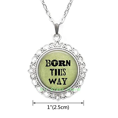 Fashion Jewellery Fashion Jewelry LGBT Gay Pride Rainbow Pendant Necklace Transgender Gift 01
