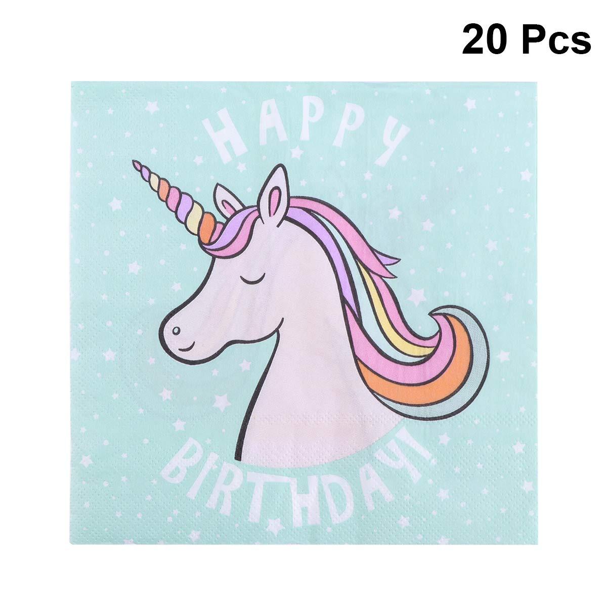 Amosfun niños cumpleaños vajilla desechable de dibujos ...