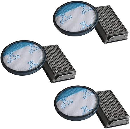 Filtros HEPA para aspiradora Rowenta/Moulinex/Tefal Compact Power Cyclonic, 3 unidades: Amazon.es: Hogar