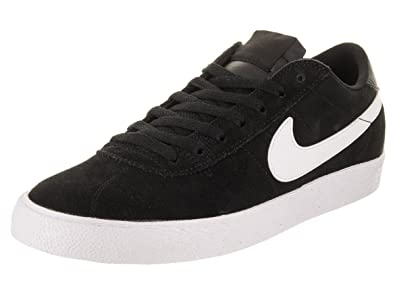 new products 60449 0c6ad Nike 877045-003  Mens SB Bruin Zoom Black White Premium SE Sneakers (