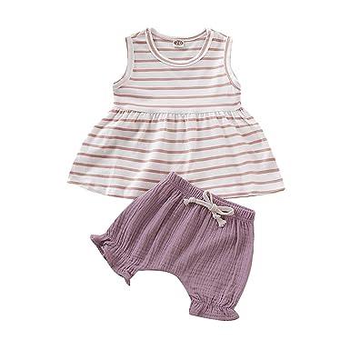 SO-buts - Chándal de Verano para bebé de 0 a 2 años, sin Mangas ...