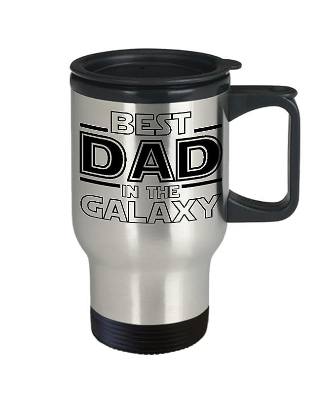 Amazon.com: Best Dad en el Galaxy de acero inoxidable ...