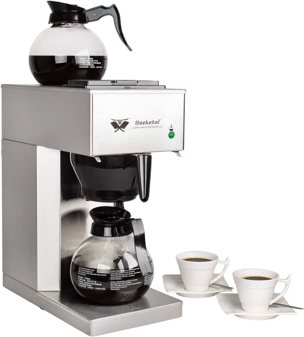 Edelstahl Filterkaffeemaschine - Büro Kaffeemaschine