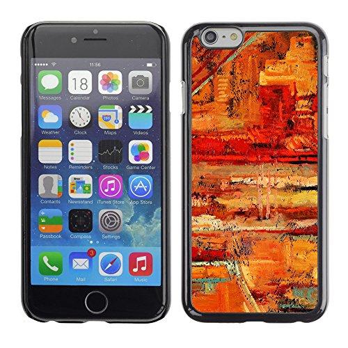 """Premio Sottile Slim Cassa Custodia Case Cover Shell // V00001935 Peinture abstraite // Apple iPhone 6 6S 6G PLUS 5.5"""""""