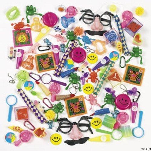 100 pièce jouets assortis - Carnaval prix / cotillons