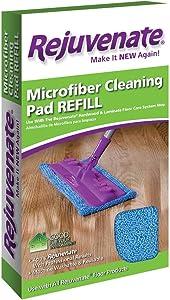 Rejuvenate Microfiber Cleaning Pad Refill Fits Hardwood & Laminate Floor Care System Mop – Use with all Rejuvenate Floor Cleaning and Restoration Products