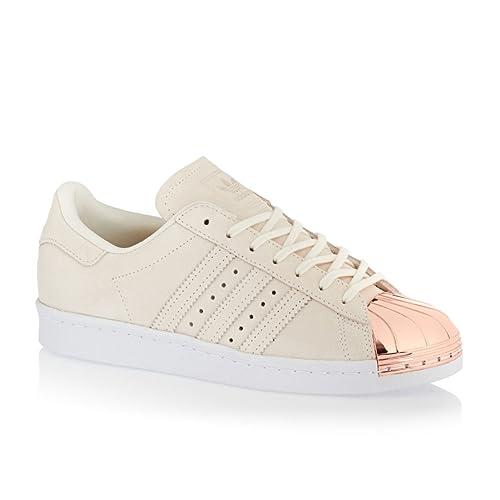 brand new 57f9b f1e71 Adidas Superstar 80s Metal Toe Trainers White 7 UK: Amazon ...