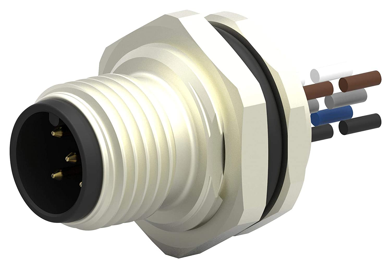T4171010005-001 5P M12 Plug-Free END TE CONNECTIVITY Sensor Cord 7.9\ inch