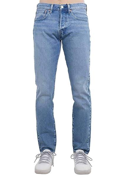 Pantalon Vaquero Levis 501 Slim Taper Revolution 2932 Azul ...