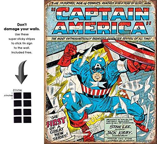 vintage captain america - 7