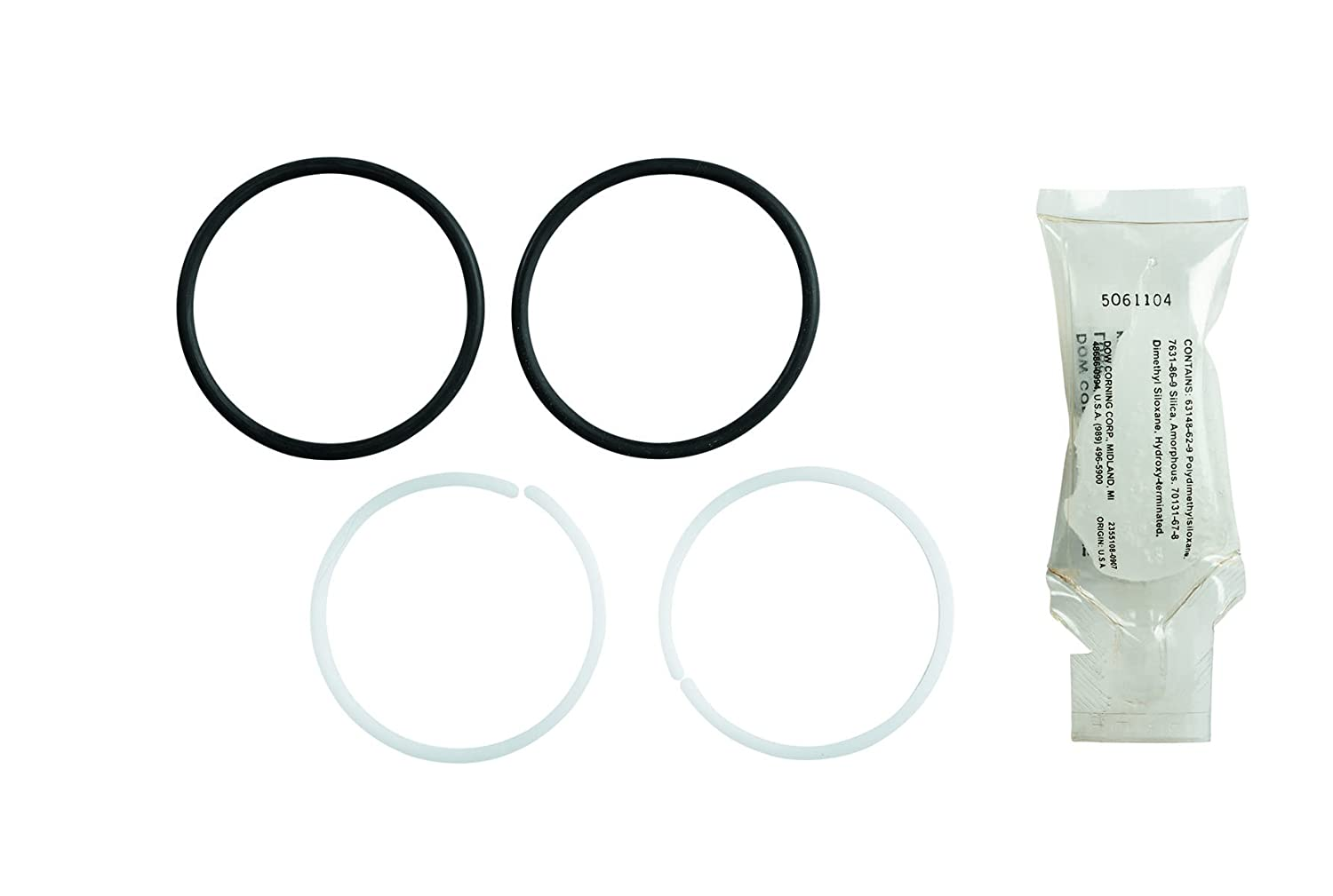 Kohler GP30420 Seal Kit for Kitchen Faucets with Bearings, O-Rings and Lube, Small Black & White