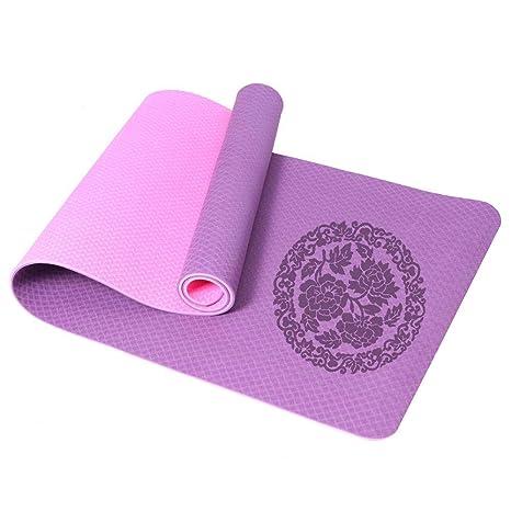 Amazon.com : Folding Gymnastics Exercise Mat Yoga Exercise ...