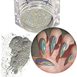 Best Acrylic Powders - Holographic Laser Powder Rainbow Nail Art Glitter Manicure Review