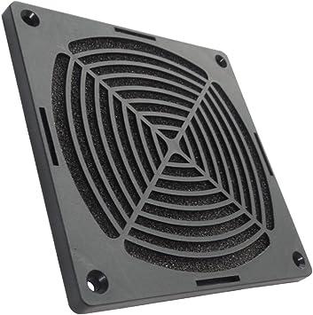 AERZETIX: Rejilla Negra de protección 120x120mm ventilación con ...