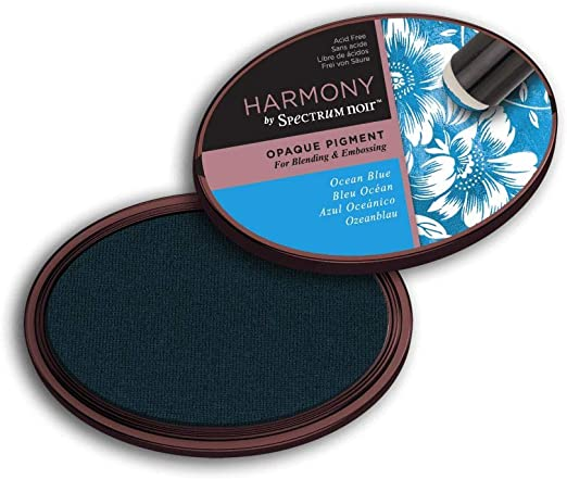 Baby Blue Crafter/'s Companion Spectrum Noir Ink Pad Harmony Water Reactive