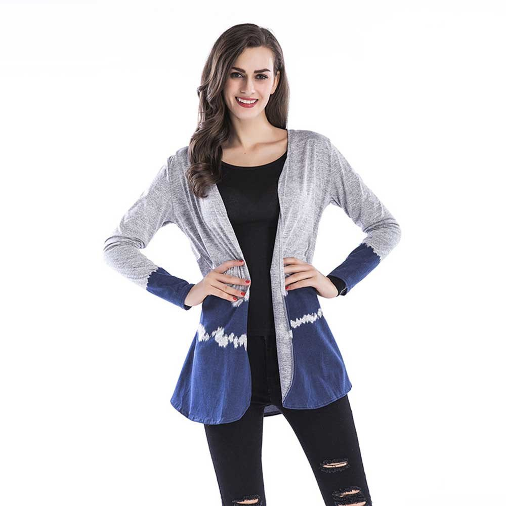 Amazon.com : Clearance!Youngh Womens Coat Plus Size printing Gradient Loose Long Sleeve Casual Pullover Outerwear Cardigan : Grocery & Gourmet Food