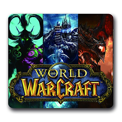 Gaming Mouse Pad World Of Warcraft,WOW Hero Mousepad (World Of Warcraft Mouses)