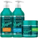 Lowell Cacho Magico Shampoo + Creme Modelador + Mascara