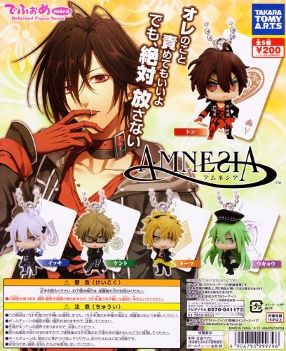 In Fome mini AMNESIA Amnesia Anime Gacha Tomy Arts