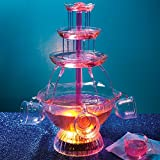 Light Up Party Fountain - includes Five 6-oz. Cups