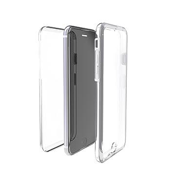 bcc110a0b2e Muvit Crystal 3D - Funda Parte Delantera y Trasera, para Apple iPhone 8/7,  Transparente: Amazon.es: Electrónica