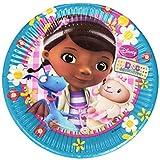Unique Party 20 cm Disney Doc McStuffins Paper Plates (Pack of 8)