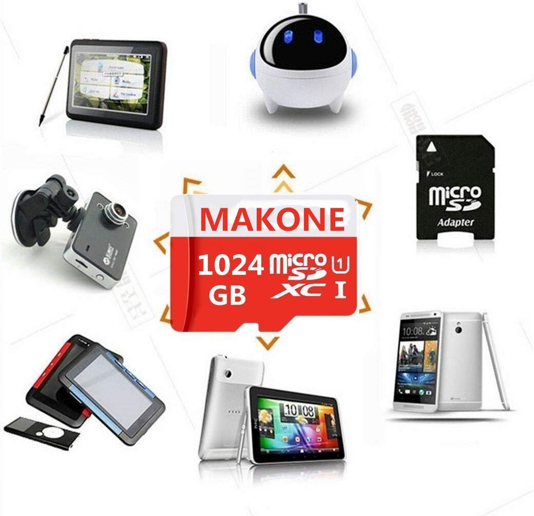 Amazon.com: MAKKEN 1TB Micro SD Card High Speed 1024GB ...