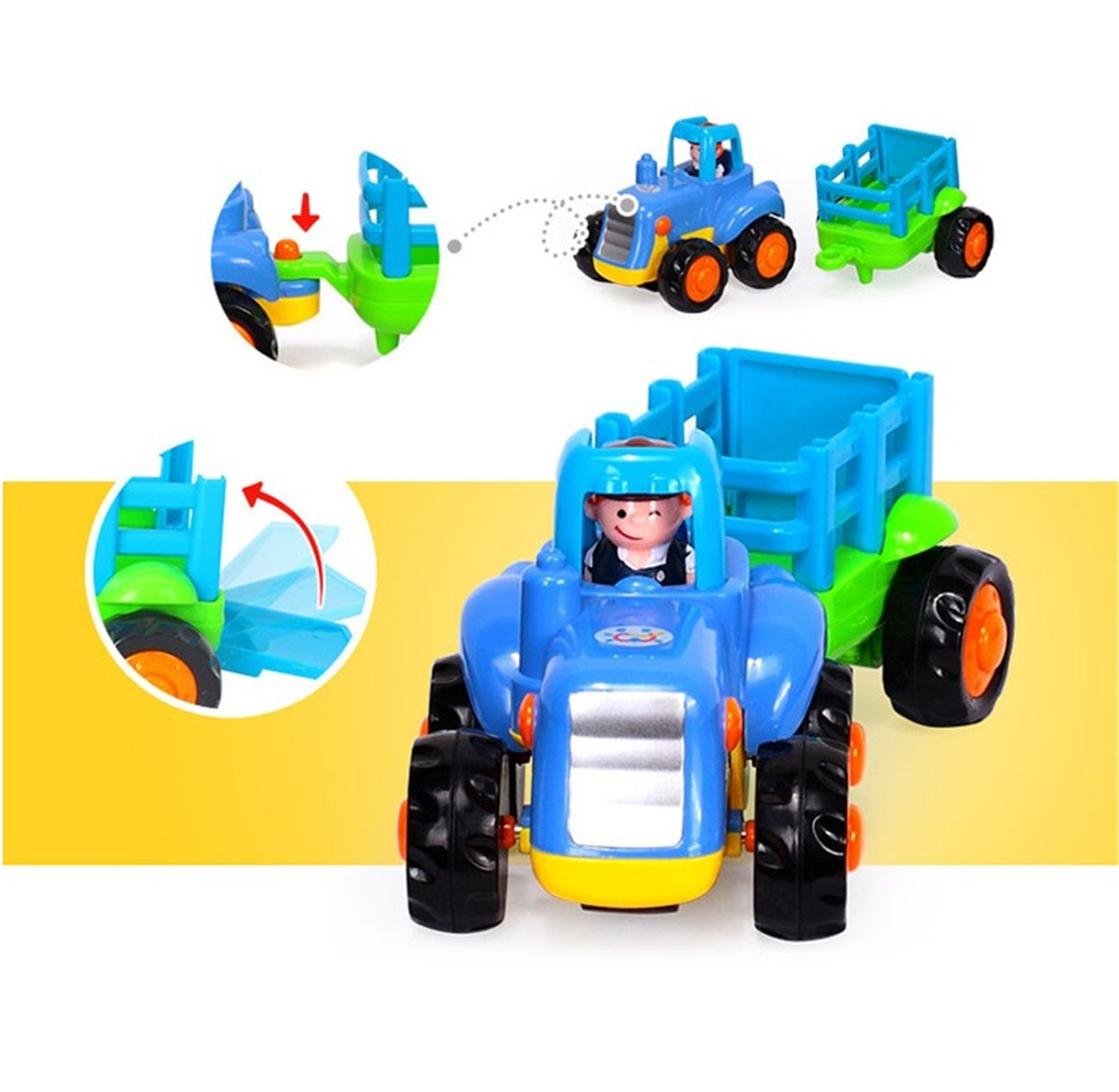 Truck Toys For 3 Year Olds : Galleon d mcark early educational toddler baby toy push