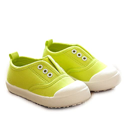 5ea85f391b98 O N Fashion Candy Color Kids Toddler Canvas Shoes Boy Girl Slip-On Sneaker