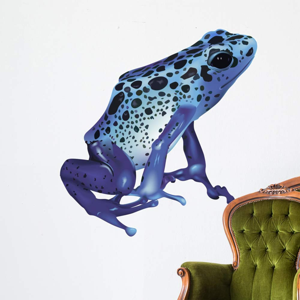 Wallmonkeys Poison Frog Wall Decal Peel and Stick Animal Graphics (48 in H x 48 in W) WM361882