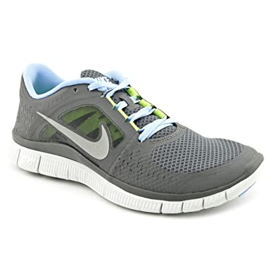 purchase cheap 5e833 9952d Amazon.com | Nike Free Run+3 Womens Running Shoes Dark Grey ...