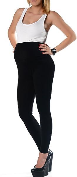 Mallas cadera Alto panel algodón Leggings premamá larga para embarazada S M L XL XXL 3 X l 36 38 40 42 44 46 LCP: Amazon.es: Ropa y accesorios