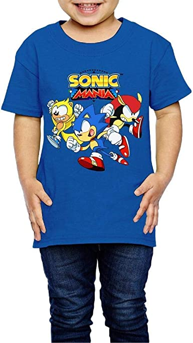 Shadow The Hedgehog Blue Kids T-Shirts Short Sleeve Tees Summer Tops for Youth//Boys//Girls