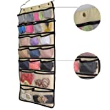Hanging Closet Dual-Sided Organizers Oxford With 42