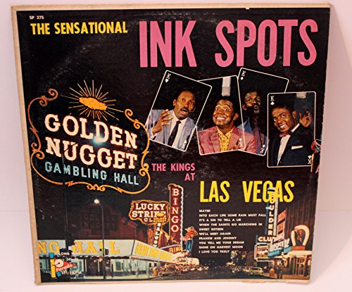 375 Ink (The Kings at Las Vegas by the Sensational Ink Spots - Parade Hi-Fi Record, SP 375)