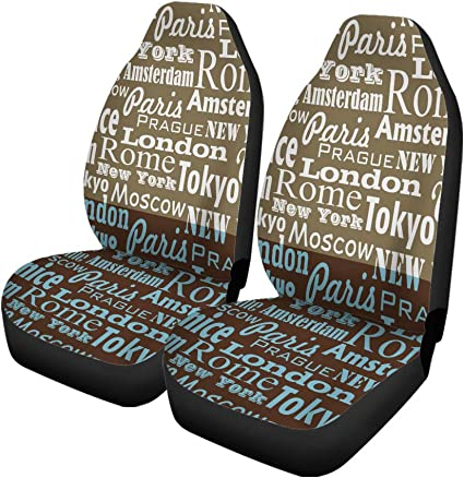 2 PERSONALISED CAR SEAT BELT PADS Any name//s can be added