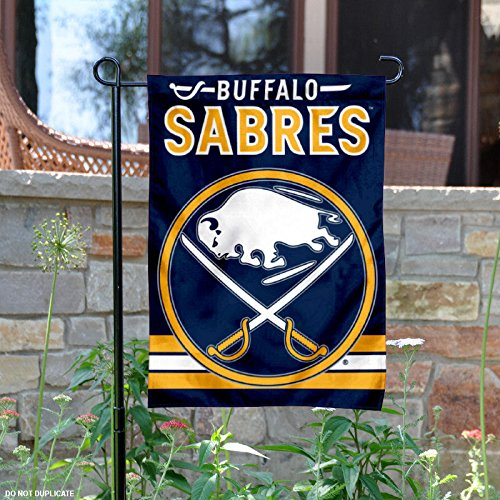 Buffalo Sabres Flag (Buffalo Sabres Double Sided Garden Flag)
