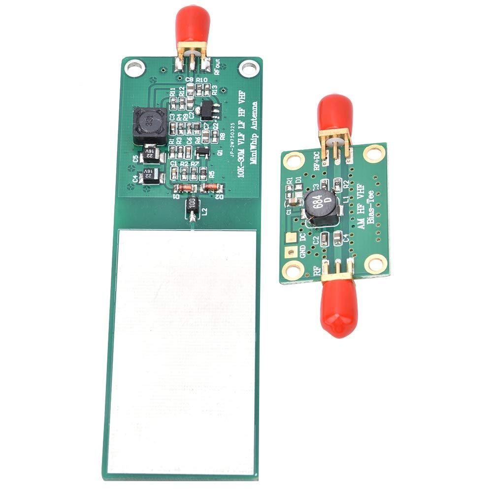 Mini-Whip Mf/Hf/Vhf Interfaz de salida SMA de antena activa de onda corta