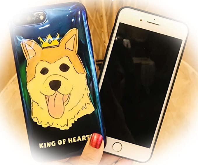 Bulldog king iphone case