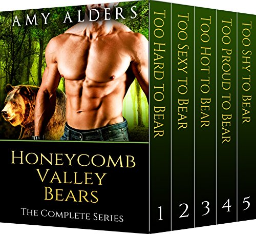 Honeycomb Valley Bears: The Complete Series (BBW Paranormal Shape Shifter Romance, Book 1-5) -