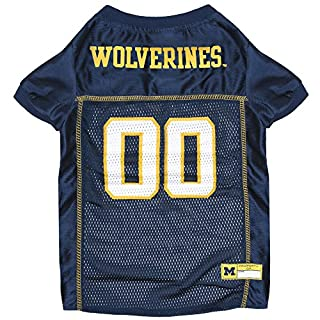 NCAA MICHIGAN WOLVERINES DOG Jersey, X-Large