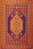 Mad Mats Oriental Turkish Indoor/Outdoor Floor Mat, 4 by 6-Feet, Rust