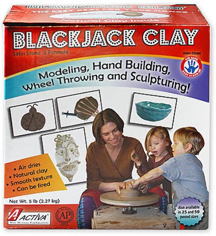 Activa Products Blackjack Clay (5 Lb.) 1 pcs sku# 1828911MA