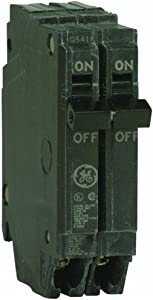 GE THQP220 Plug-In Mount Type THQP Feeder Molded Case Circuit Breaker 2-Pole 20 Amp 120/240 Volt AC