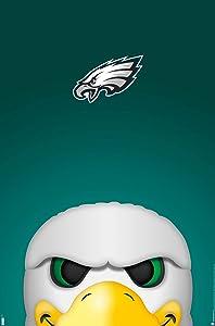 Trends International NFL Philadelphia Eagles - S. Preston Mascot Swoop 20 Wall Poster, 22.375
