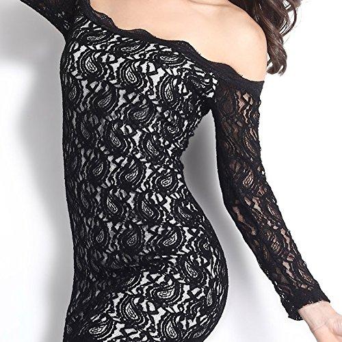 robe longue dentelle