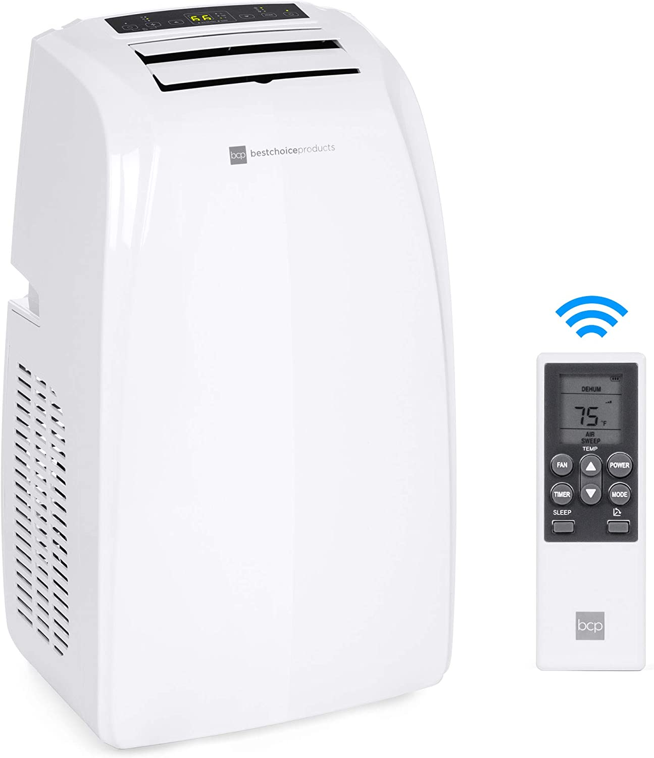 Best Choice Products 14,000 BTU Portable Air Conditioner ...